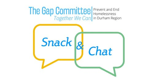 "The Gap Committee ""Snack and Chat"""
