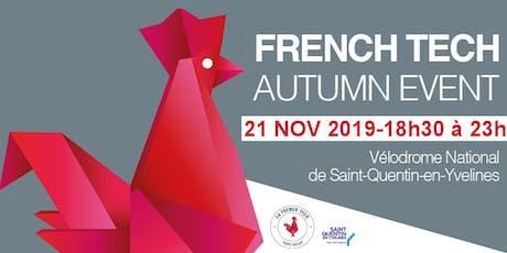 French Tech Paris Saclay Autumn Event billets
