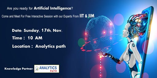Enroll Your Seat for Artificial Intelligence Free Interactive Session