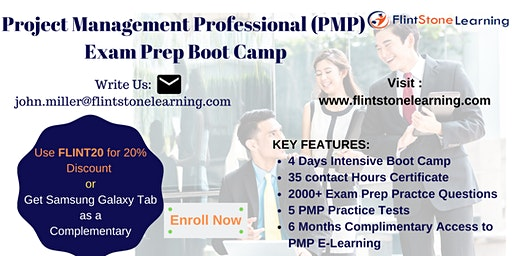 Know About PMP Exam Boot Camp in Dhahran, Saudi Arabia