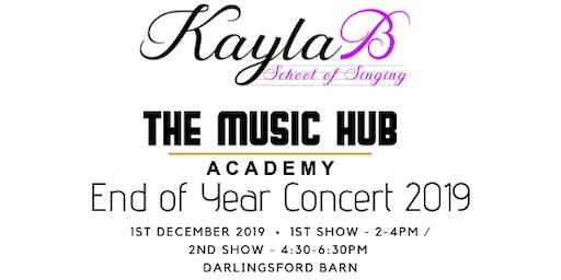 END OF YEAR CONCERT 2019 - KAYLA B SCHOOL OF SINGING X THE MUSIC HUB