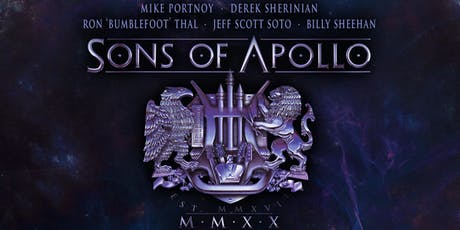 Sons of Apollo with Tony MacAlpine tickets