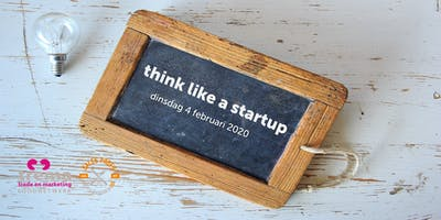 Themabijeenkomst: think like a startup