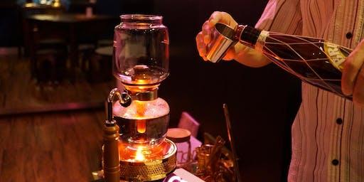 Syphon Coffee Night with Liquor 虹吸夜啡酒