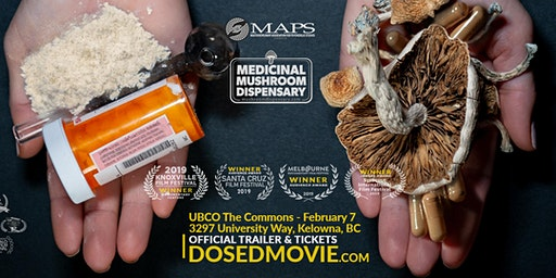 DOSED Documentary + Q&A - One Show Only at UBC Okanagan!