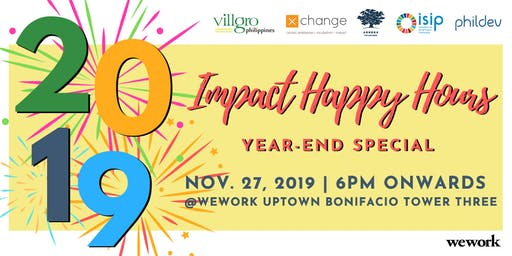 Impact Happy Hours Year-End Special