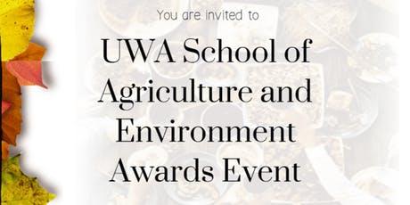UWA School of Agriculture and Environment Awards Event tickets
