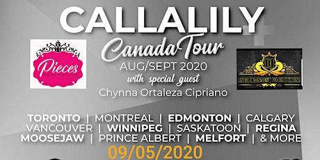 Callalily Canada tour 2020 tickets