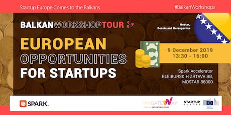 How can startups benefit from EU funds? (Mostar, BiH) tickets