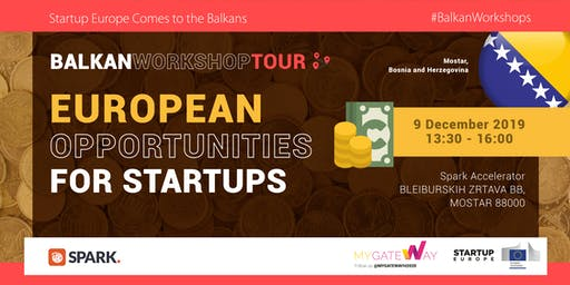 How can startups benefit from EU funds? (Mostar, BiH)