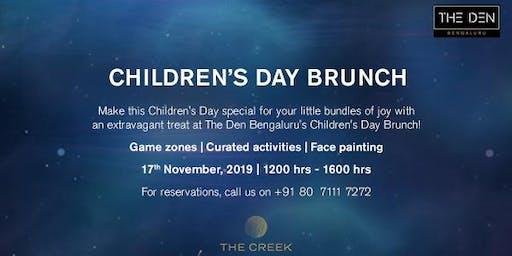 Children's Day Brunch @ The Den