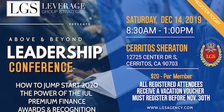 LGS Above & Beyond Leadership Conference  tickets