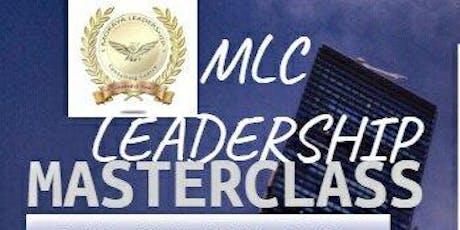 MLC Leadership Masterclass tickets