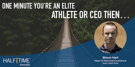 One Minute You're an Elite Athlete or CEO Then...