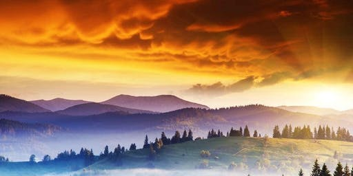Purple Mountain Majesty Paint & Sip @ The Haul