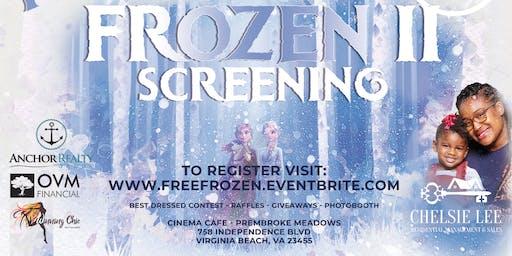 Free Frozen 2 Screening