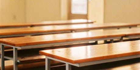 La dispersione scolastica non è solo banchi vuoti: incontro con Ricci biglietti