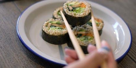 Vegan Sushi Workshop tickets