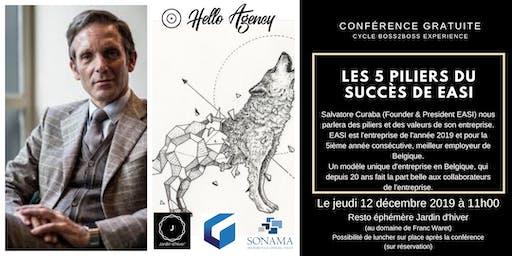 EASI: les 5 piliers du succès - conférence avec Salvatore Curaba