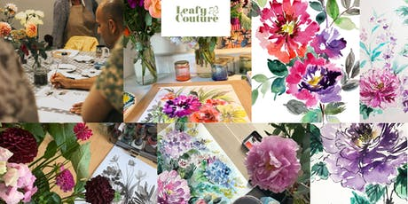 Floral Painting Workshop using  Watercolour Inks tickets
