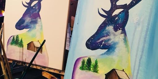 The Stary Reindeer Paint & Sip @ The Haul