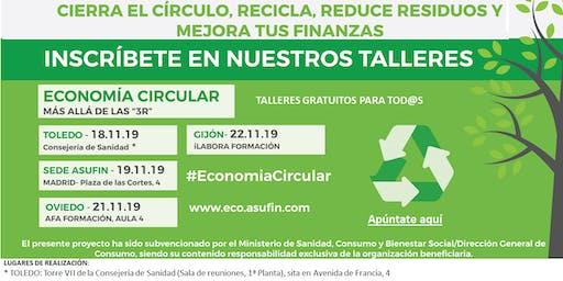 TALLER DE ECONOMÍA CIRCULAR - Asufintech