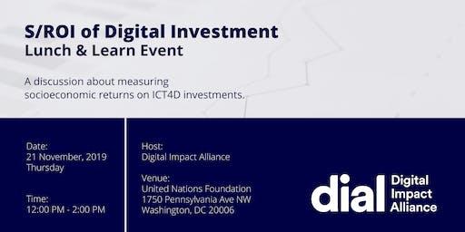 S/ROI of Digital Investment