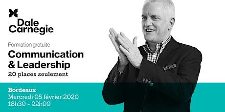 Communication & Leadership - Soirée de formation gratuite à Bordeaux billets