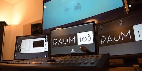 R.A.u.M. 103 – Die subtile Macht des Sounds in der digitalen Welt Tickets