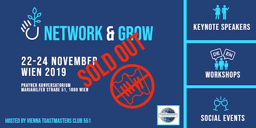 Network and Grow -  Toastmasters Austria