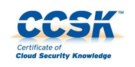 Cloud Computing Security Professional (CCSK) tickets