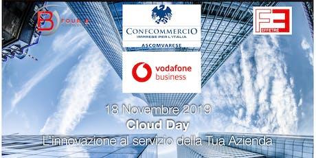 Digitalizzazione del negozio Cloud Day biglietti
