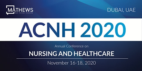 Annual Conference on Nursing and Healthcare tickets
