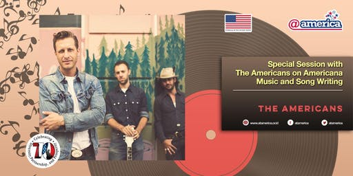 Special Session with The Americans on Americana Music and Song Writing
