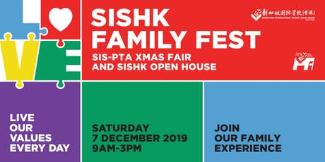 Admissions Talks at 2019 SISHK Family Fest: SIS-PTA Xmas Fair and SISHK Open House tickets