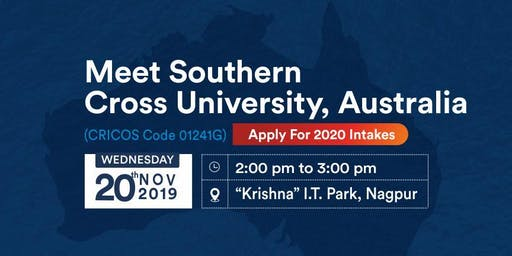 Meet & Apply to Southern Cross University, Australia on 20th Nov'19