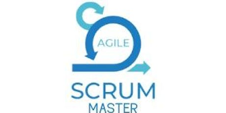 Agile Scrum Master 2 Days Virtual Live Training in Montreal tickets