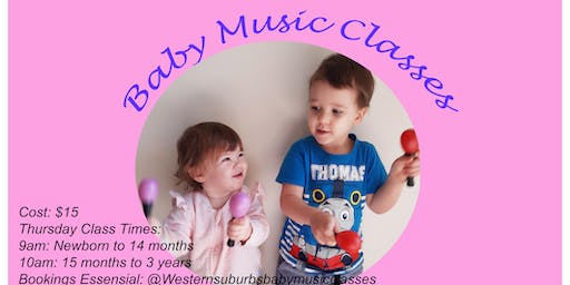 Baby Music Classes (Newborn to 14 months)