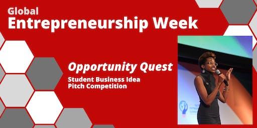 Global Entrepreneurship Week: Opportunity Quest