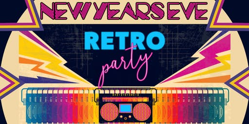 New Years Eve Retro Neon Party