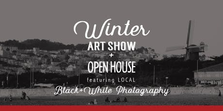 Winter Art Show + Open House featuring B+W Photography tickets