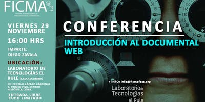 Conferencia Introducción al documental web
