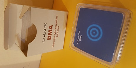 DMA - Dispositivo Memorizzazione dell'Acqua biglietti