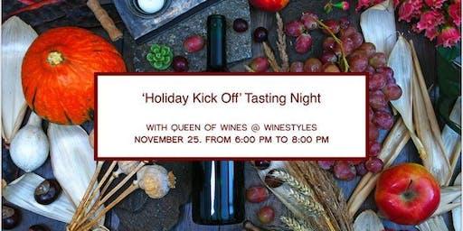 Holiday Kick off' Tasting Night