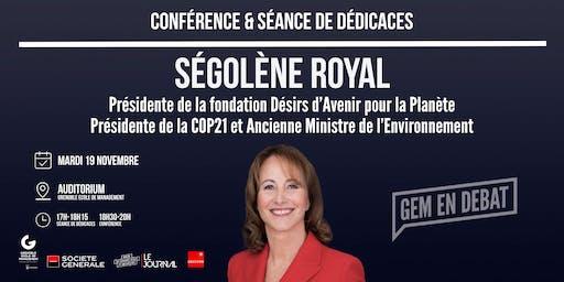 Conférence de Ségolène Royal à GEM