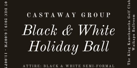 Castaway Group Black & White Holiday Ball tickets
