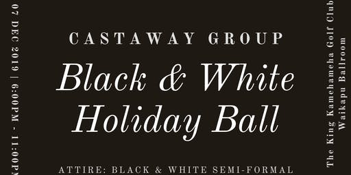 Castaway Group Black & White Holiday Ball