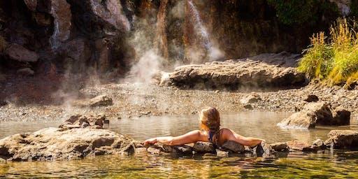 Soak in a hot spring under the stars