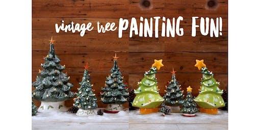 Vintage Tree Painting Fun!!! (2019-12-07 starts at 5:00 PM)