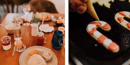 Weihnachtsfrühstück & Kekse Backen